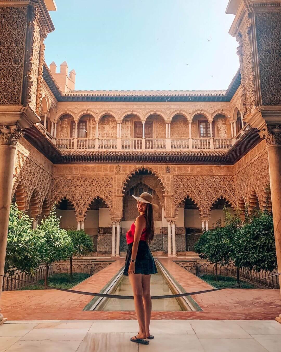 La fortaleza árabe del siglo XI, o Alcázar